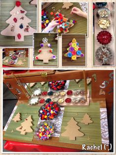 "Fine-motor tree decorating... from Rachel ("",)"