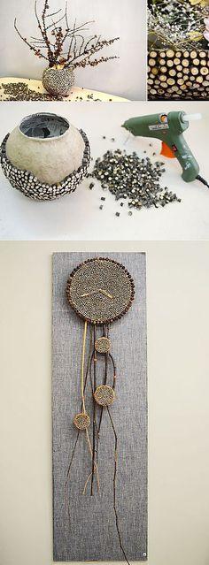 Декор из кусочков веток | Умелые ручки | прочие поделки своими руками, различные техники | Постила