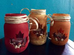 Mason jar candles http://autumntrout23.uppercaseliving.net/Home.m