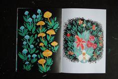 Botanical Zine Volume II Nature Journal, Fungi, Zine, You Got This, Paper, Illustration, Prints, Flowers, Etsy