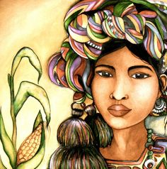 Guatemalan Princess ~ by Claudia Tremblay