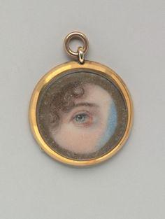 Lovers eye Charm...Eye of Maria Miles Hayward Edward.