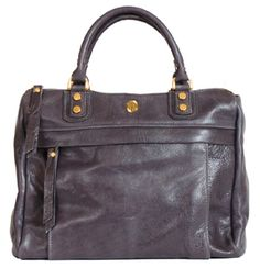 Avery Satchel Gray Corrente Handbags Leather And Purses Made Locally In Nyc