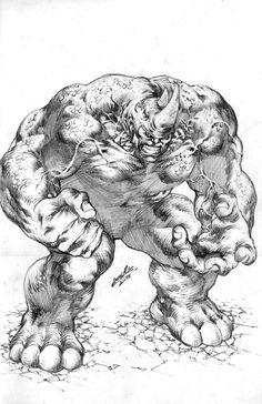 José Luis fait des commissions - Page 4 Arte Dc Comics, Marvel Comics Art, Marvel Drawings, Cool Drawings, Comic Book Heroes, Comic Books Art, Rhino Spiderman, Comic Villains, Comic Drawing