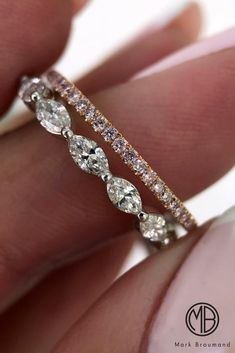 Unique And Beautiful Mark Broumand Engagement Rings ❤ See more: http://www.weddingforward.com/mark-broumand-engagement-rings/ #weddingforward #bride #bridal #wedding