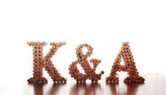 Lettre de Cork monogramme de bouchons en liège par LadyKatieShop