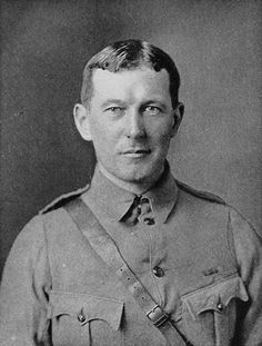 Lieutenant Colonel John McCrae served on the Western Front as a Canadian soldier famously penning his celebrated rondeau, 'In Flander's Fields' after the Battle of Ypres. - from Wikipaedia Canadian Soldiers, Canadian Army, Canadian History, World War One, First World, Bob Marley, Second Battle Of Ypres, Soldier Haircut, Remembrance Poppy