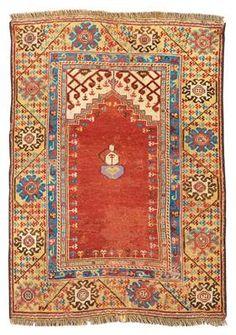 Konya, Central Anatolia (Turkey), c. 137 x 96 cm, late 18th centuryI Dorotheum Sale Sept 2015