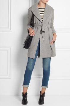 Grey staple coat