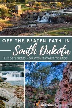 Off the Beaten Path in South Dakota Off the Beaten Path in South Dakota,Best of Opting Out of Normal As full time RV travelers we have put together the ultimate list of things to. Rapid City South Dakota, South Dakota Vacation, South Dakota Travel, Deadwood South Dakota, Sioux Falls South Dakota, Sturgis South Dakota, Badlands National Park, National Parks, Map Vintage