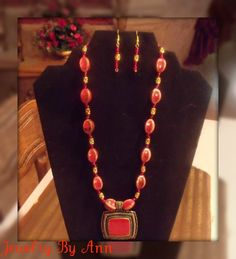 Bold, Trendy & Unique 2 piece set designed and created by Ann Ray! $15.00 + S&H. PayPal. contact info: annray253@bellsouth.net & 229-460-0051