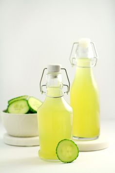 This homemade Cucumber Simple Syrup results in a naturally flavoured simple syrup that tastes divine when added to water or other beverages. The beautiful bright colour is completely natural too!