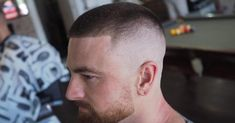 The high and tight is a military classic. Here's all you need to know about the high and tight haircut, plus hairstyles you can wear with it. High And Tight Fade, High And Tight Haircut, Marine Haircut, Fade Haircut, Modern Haircuts, Haircuts For Men, Short Haircuts, Jarhead Haircut, Hairstyles Haircuts