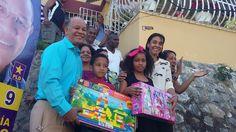 José García celebra el día de los Santos Reyes con entrega de Juguetes a niños de SDN