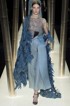 GIORGIO ARMANI PRIVE  SPRING / SUMMER COUTURE COLLECTION 2015 #EZONEFASHION