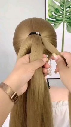 Easy Hairstyles For Long Hair, Braided Hairstyles, Cool Hairstyles, Hot Hair Styles, Silky Hair, Hair Videos, Hair Designs, New Hair, Locks