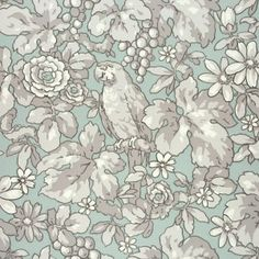 Patricia by Sandberg - Turquoise - Wallpaper : Wallpaper Direct Swedish Wallpaper, Of Wallpaper, Nordic Classicism, Turquoise Wallpaper, Swedish Design, Modern Family, True Colors, Backdrops, Exotic