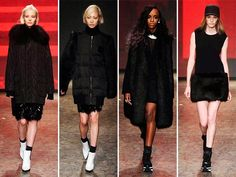 DKNY Fall/Winter 2014-2015 Collection - New York Fashion Week   #NYFW #MBFW #NewYorkFashionWeek #fashion