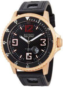 Best Price Ritmo Mundo Men's 313 RG Carbon Hercules Titanium Automatic Black Dial Watch Buy online and save - http://greatcompareshop.com/best-price-ritmo-mundo-mens-313-rg-carbon-hercules-titanium-automatic-black-dial-watch-buy-online-and-save