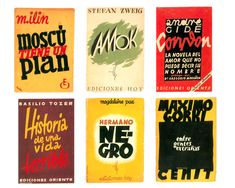 Book covers by Mauricio Amster, 1931–1932