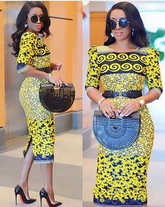 Top 10 Ankara Dress Styles to Wear To The Office – African fashion and life styles African Dresses For Women, African Print Dresses, African Print Fashion, Africa Fashion, African Attire, African Wear, African Fashion Dresses, African Women, African Prints