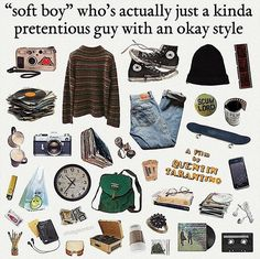 comment something he would say Retro Outfits, Mode Outfits, Vintage Outfits, Vintage Fashion, Aesthetic Fashion, Aesthetic Clothes, Punk Fashion, Fashion Outfits, Mode Inspiration