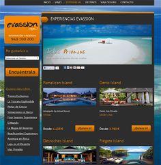 Evassion: Tu portal de viajes exclusivos