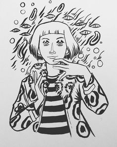 @spacequail Some shade for you #shadethechanginggirl #dcyounganimal #doodle #drawing #sketchbook #art #illustration #sketch
