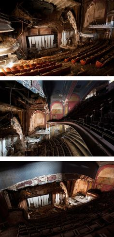 Proctor's Palace Theatre (Newark, US), opened 1915, closed 1968. Still standing