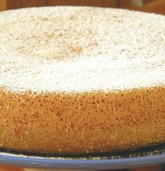 "Here's the recipe for Coconut Yoghurt Cake : so simple so soft. It was given to me by Francesca from Rome, who wrote:  ""Today I made a sim..."
