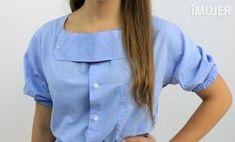 Cómo reciclar una camisa de manga larga