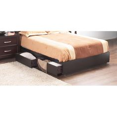 Found it at Wayfair - Perry Platform Bed Base
