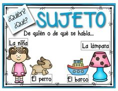 Centros de aprendizaje para practicar el sujeto y el predi Dual Language Classroom, Bilingual Classroom, Bilingual Education, 1st Grade Activities, Spanish Activities, Spanish Lessons, French Lessons, Spanish Anchor Charts, Picture Writing Prompts