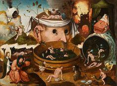 """Fashion Press ヒエロニムス・ボス工房《トゥヌグダルスの幻視》1490-1500年頃 油彩、板https://t.co/KAnw4SBbu8"""""""