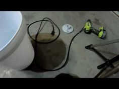 How to build a bucket light - YouTube