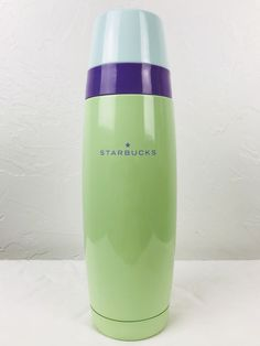 Starbucks Thermos Stainless Steel Pastel Green Purple Blue Travel Tumbler 16oz   | eBay