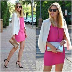 Romwe, Mango, Zara - Pink dress - Marta M