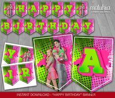 Zombie Disney, Zombie 2, Zombie Birthday Parties, Birthday Ideas, Zombie Movies, Candy Party, Happy Birthday Banners, Kids Rugs, Disney Ideas