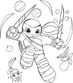 master splinter coloring pages | click to print preview ...