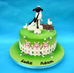Shaun the sheep - Cake by Karen Geraghty