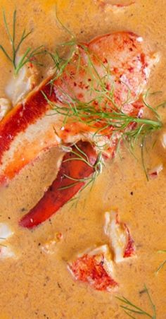 Easy Lobster Bisque Recipe - The Suburban Soapbox - Seafood Recipes Lobster Recipes, Fish Recipes, Seafood Recipes, Gourmet Recipes, Cooking Recipes, Lobster Bisque Recipe, Seafood Bisque, Lobster Stew Recipe Maine, Seafood