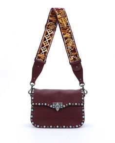 Valentino Rockstud studded messenger bag available at NEIMAN MARCUS