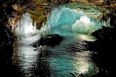 Lofthellir Ice Cave