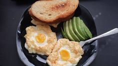 Fluffy Egg Clouds Avocado and Toast