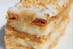 Greek Sweets, Greek Desserts, Greek Recipes, Cookbook Recipes, Sweets Recipes, Cooking Recipes, Greek Cake, Crockpot, Greek Cooking
