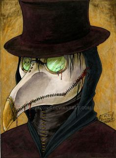 Always loved plague doctor masks, if I ever find the time I'd like to make one.^^ Just a new character idea I've been playing around with. I'll be posting his story once I've fleshed it out a bit. Arte Horror, Horror Art, Corvo Mask, Plauge Doctor, Horror Drawing, Plague Doctor Mask, Dark Art Illustrations, Bird Masks, Danse Macabre