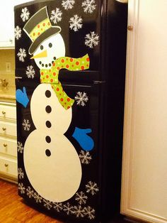 My very own Fridge snowman