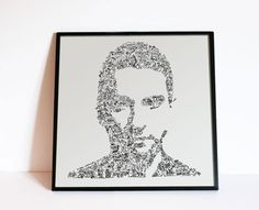 Dave Gahan Portrait. Limited Edition Print. Drawing by DrawInside