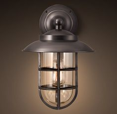 Awesome Starboard Large Sconce With Shade Bronze | Sconces | Restoration Hardware.  Wall LightingOutdoor ...