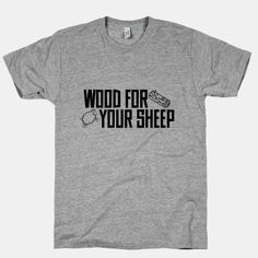Settlers of Catan Wood For Your Sheep
